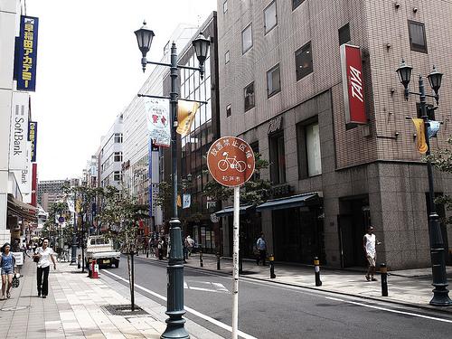 松戸駅前の風景