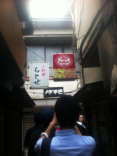 松戸の横丁街