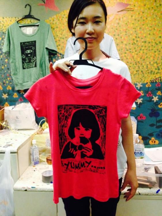 Tシャツ狩野愛