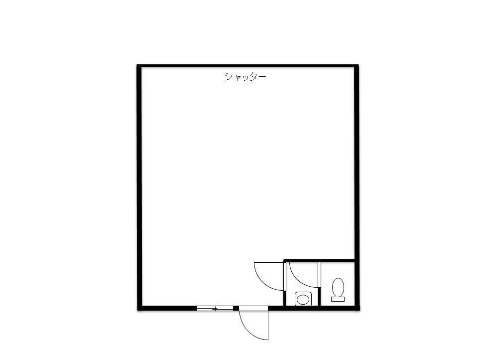 間取り_はじまりショップ105 - コピー