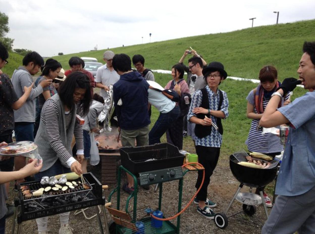 江戸川河川敷BBQを通してみんなで地元を遊び尽くしましょう
