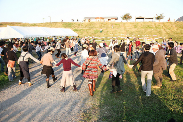 なんにもないところだって、最高の場所になる。|Edogawa Outdoor Wedding