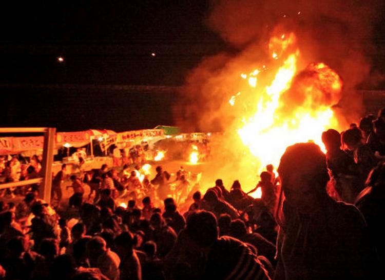 京都府福知山市の花火大会で起こった爆発事故