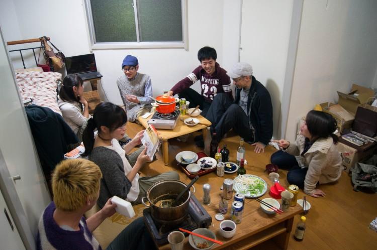 MAD Cityでは入居者同士での食事会も盛んに行われています。