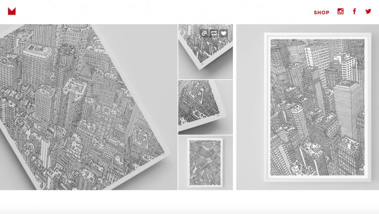 ヴァスコ・ムラオさんのブログ。都市や建物の絵がたくさん。