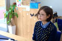 グラフィックデザイナーとしても活躍されているアルタイル店長の佐々木さん。