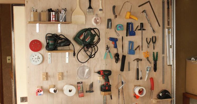 壁塗りや床張りなどのDIY改装には、いろいろな道具が必要になってきます。MAD Cityでは、そうしたDIYツールのレンタルサービスを行っています。