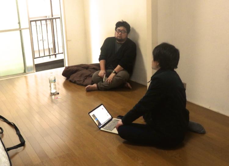 MAD Cityの某物件に、間取り図ナイト主宰/物件ファン編集長の森岡さんが入居されました。引っ越しのこの日、早速インタビューでお邪魔してきました!
