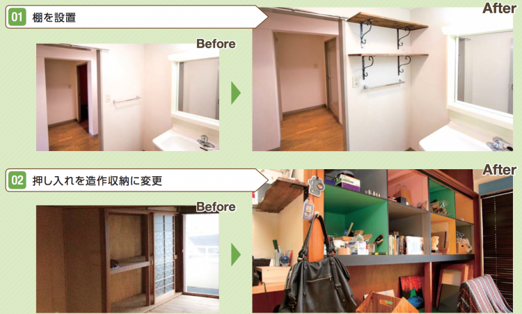 DIY型賃貸借のbefore&after(その1)