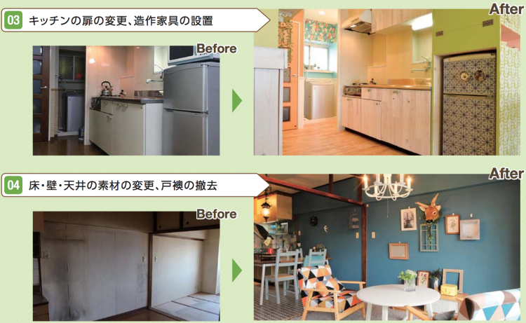 DIY型賃貸借のBefore&After(その2)
