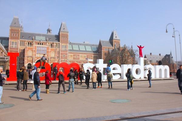 「都市の資産は人である」というモットーに2004年からアムステルダムをプロモートする目的でスタートしたキャンペーン「I amsterdam」。