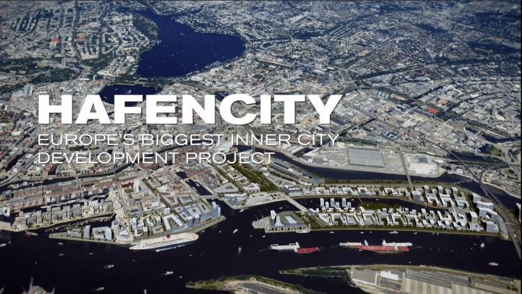 2001年に建設着工してから現在進行形の再開発が行われているハーフェンシティ。住宅やオフィス、文化、観光、商業など多用途な施設で構成されています。