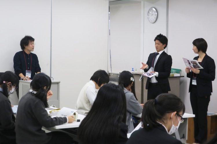 制作の過程では、ゲスト講師としてエコランドの担当者よりプロのエコ物流企業として、知見を生徒たちに伝える授業も開催しました。