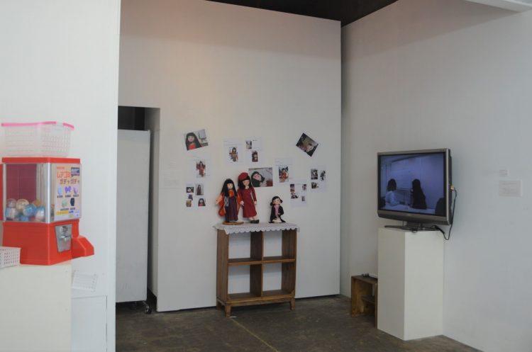 こま撮りアニメーションの手法で制作された映像作品や過去~未来を現す人形作品