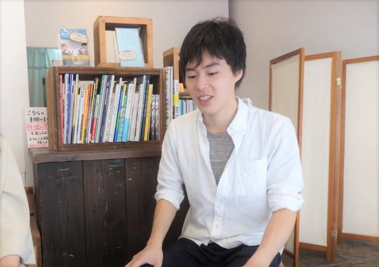 建築に対する愛着を持つための手段としてDIYに注目している武田さん。