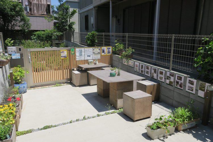 ハーブガーデンからふみ出そう!の会場。ガーデンで育てたハーブを使ったティーパーティーなどが開催されています。